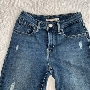 Levi's Jeans - Levis 721 high waisted skinny jeans size 24